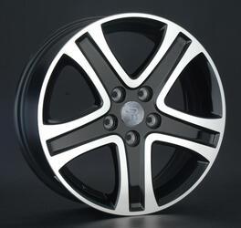 Автомобильный диск литой Replay SZ5 6,5x17 5/114,3 ET 45 DIA 60,1 BKF