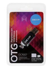 OTG карт-ридер DEXP OCR007