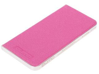 Портативный аккумулятор Qumo PowerAid Slim Smart 4000 серебристый, розовый