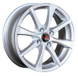 Автомобильный диск Литой LegeArtis RN12 6x15 4/100 ET 43 DIA 60,1 Sil