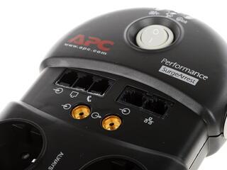 Сетевой фильтр APC PF8VNT3-RS Performance SurgeArrest серый, черный