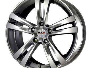 Автомобильный диск Литой MAK Zenith 7,5x18 5/105 ET 38 DIA 56,6 Hyper Silver
