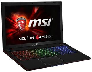 "15.6"" Ноутбук MSI GE60 2QD-1052 черный"