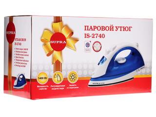 Утюг Supra IS-2740 голубой