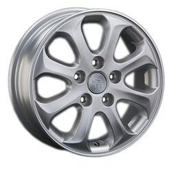 Автомобильный диск литой Replay MZ67 5,5x15 5/114,3 ET 50 DIA 67,1 Sil