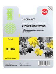 Картридж струйный Cactus CS-CLI426Y