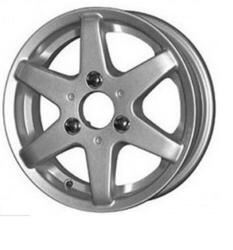 Автомобильный диск Литой K&K Веста 4x12 3/98 ET 37 DIA 60,1 Сильвер