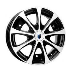 Автомобильный диск Литой K&K Таврия 4,5x13 3/256 ET 30 DIA 108,5 Алмаз черный