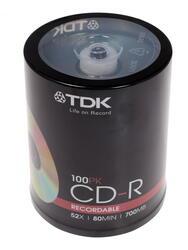 Диск TDK CD-R 700 Mb