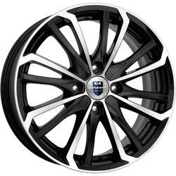 Автомобильный диск литой K&K Рим 6,5x16 4/108 ET 20 DIA 65,1 Алмаз черный