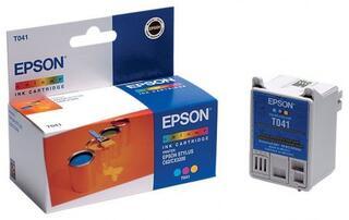 Картридж струйный Epson T041