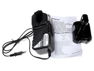 Шуруповерт Hitachi DS14DCL-RC