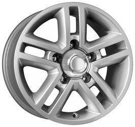 Автомобильный диск  K&K Медео-Форс 7x16 5/139,7 ET 35 DIA 110,1 Сильвер