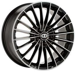 Автомобильный диск Литой OZ Racing 35 Anniversary 6,5x15 4/108 ET 25 DIA 75 Black + Diamond Cut