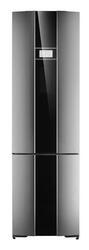 Холодильник с морозильником Gorenje NRK 6P2X серебристый