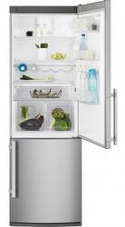Холодильник с морозильником Electrolux EN3888AOX серебристый