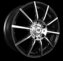 Автомобильный диск Литой NZ SH625 6x15 4/114,3 ET 45 DIA 73,1 BKF
