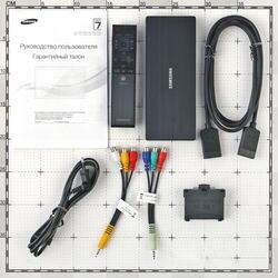 "55"" (139 см)  LED-телевизор Samsung UE55JU7000 серебристый"