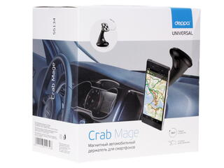 Автомобильный держатель Deppa Crab Mage