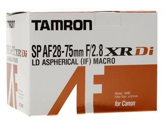 Объектив Tamron SP 28-75mm F2.8 XR Di LD