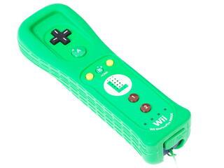 Игровой контроллер Wii U Remote Plus Luigi Edition зеленый