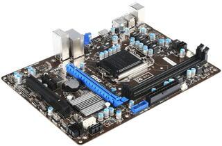 Плата MSI B75MA-E31 Socket-1155 Intel B75 DDR3 mATX AC`97 8ch(7.1) GbLAN SATA3 VGA+HDMI
