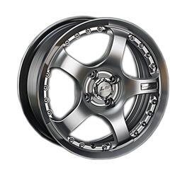 Автомобильный диск Литой LS K208 7x16 5/112 ET 40 DIA 73,1 HPL