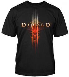Футболка Diablo III - Burning черный