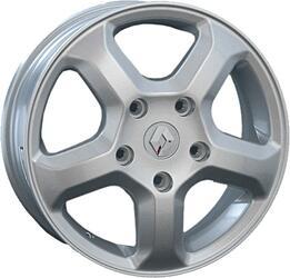Автомобильный диск Литой Replay RN35 6x16 5/130 ET 66 DIA 89,1 Sil