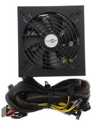 БП ATX DNS FinePower  DCM-1000EPS 950W (КПД 80%, EPS2.92V, Cable management. 600 мм провода, APFC, 135 мм кулер, кабель питания 1.5м)