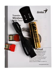 Мышь беспроводная Genius Traveler D6600 серый
