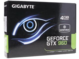 Видеокарта GIGABYTE GeForce GTX 960 [GV-N960WF2-4GD]