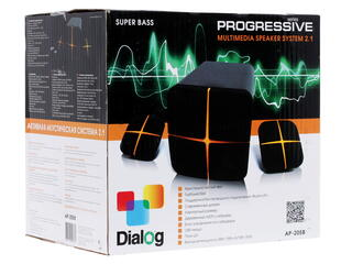 Колонки Dialog Progressive AP-205B