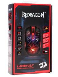 Мышь проводная Redragon Lavawolf