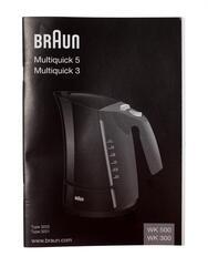 Электрочайник Braun Multiquick 3 WK 300 белый