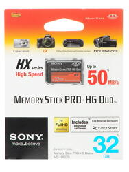Карта памяти Sony MSHX32BK MS Pro Duo 32 Гб