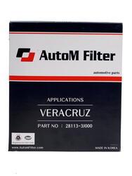 Фильтр воздушный AutoM AAK-122