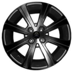 Автомобильный диск литой Replay CI22 6,5x16 4/108 ET 26 DIA 65,1 BKF