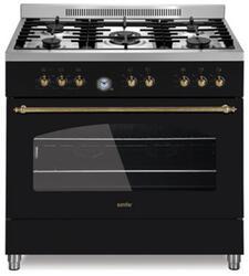 Газовая плита Simfer P 9504 YEWL черный
