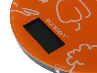 Кухонные весы Oursson KS5003GD/OR оранжевый