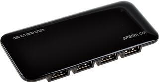 USB-разветвитель Speedlink SL-7417-SBK NOBILE Active