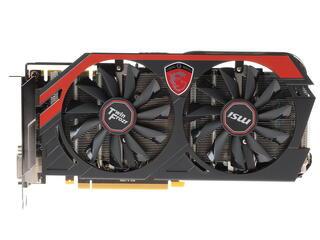 Видеокарта MSI GeForce GTX 770 [N770 TF 2GD5/OC] 2 Гб  GDDR5