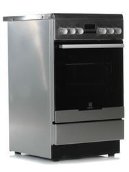 Электрическая плита Electrolux EKC954507X серебристый