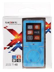 Мультимедиа плеер teXet T-48 голубой