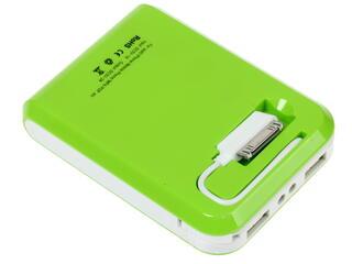 Портативный аккумулятор Turbo PowerBank 12000 mAh зеленый