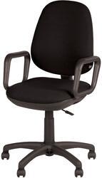 Кресло офисное ДЭФО Комфорт GTP черный