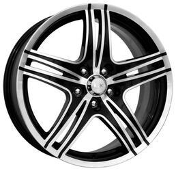 Автомобильный диск Литой K&K Омаха 8x18 5/110 ET 35 DIA 65,1 Алмаз черный