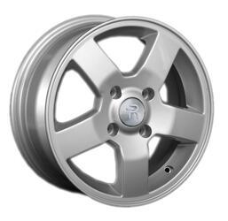 Автомобильный диск литой Replay KI57 6x15 4/100 ET 48 DIA 54,1 Sil
