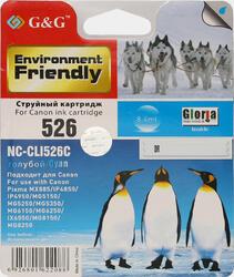 Картридж струйный G&G NC-CLI526C