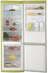 Холодильник с морозильником Electrolux EN 3487 AOJ зеленый
